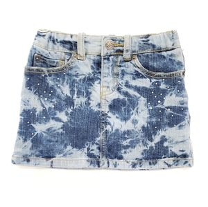 5T Girl's Children's Place Mini Blue Denim Skirt